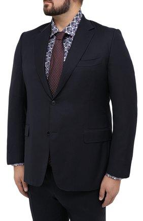 Мужской шерстяной костюм CANALI темно-синего цвета, арт. 11280/10/AA00099/60-64 | Фото 2