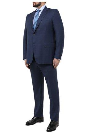 Мужской шерстяной костюм CANALI темно-синего цвета, арт. 11280/10/BF00067/60-64 | Фото 1