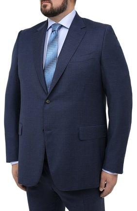 Мужской шерстяной костюм CANALI темно-синего цвета, арт. 11280/10/BF00067/60-64 | Фото 2