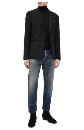 Мужской пиджак PHILIPP PLEIN черного цвета, арт. A20C MRF1286 PTE003N | Фото 2