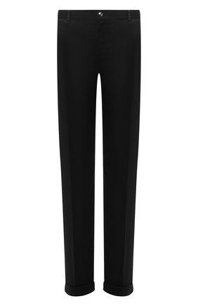 Мужской хлопковые брюки ZILLI черного цвета, арт. M0U-D0181-LUC01/R001 | Фото 1