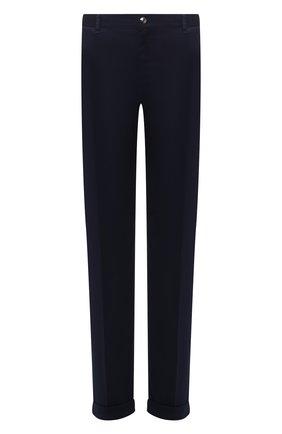 Мужской хлопковые брюки ZILLI темно-синего цвета, арт. M0U-D0181-LUC01/R001 | Фото 1