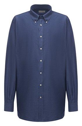 Мужская сорочка CANALI синего цвета, арт. L719B/GL02006 | Фото 1