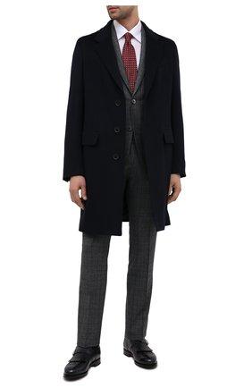 Мужские кожаные монки SANTONI синего цвета, арт. MCCG13976MJ3YNGCU59 | Фото 2