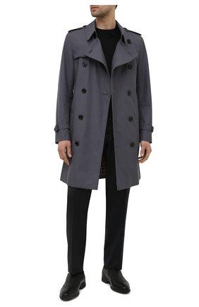 Мужские кожаные лоферы ALDO BRUE черного цвета, арт. AB8606K-NCM.A.A99T | Фото 2