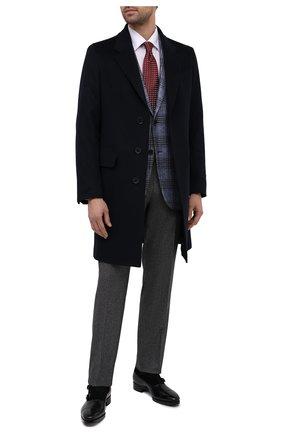 Мужские кожаные монки SANTONI черного цвета, арт. MCLE17415LE1FLTUN51 | Фото 2