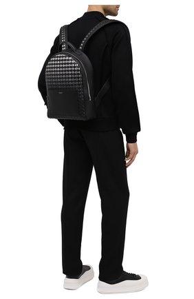 Мужской кожаный рюкзак mosaico SERAPIAN серого цвета, арт. SM0SAMLL7123M28A | Фото 2
