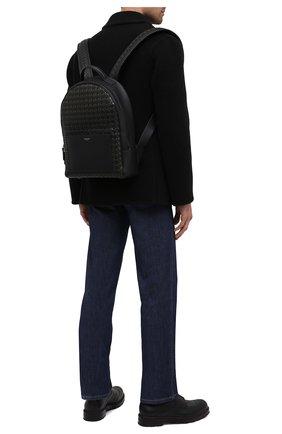 Мужской кожаный рюкзак mosaico SERAPIAN хаки цвета, арт. SM0SAMLL7123M28A | Фото 2