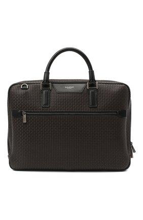 Мужская сумка для ноутбука stepan SERAPIAN темно-коричневого цвета, арт. SSTEPMLL7125M37B | Фото 1
