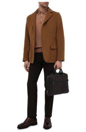 Мужская сумка для ноутбука stepan SERAPIAN темно-коричневого цвета, арт. SSTEPMLL7125M37B | Фото 2