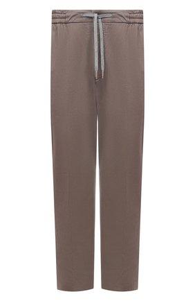 Мужской брюки из хлопка и кашемира MARCO PESCAROLO светло-коричневого цвета, арт. CARACCI0L0/4210 | Фото 1