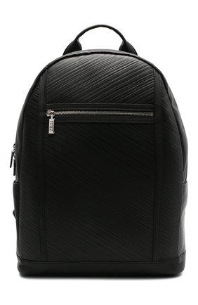 Мужской кожаный рюкзак ZILLI черного цвета, арт. MJL-0BR03-A0920/0001 | Фото 1