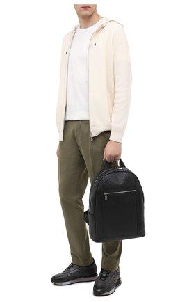 Мужской кожаный рюкзак ZILLI черного цвета, арт. MJL-0BR03-A0920/0001 | Фото 2