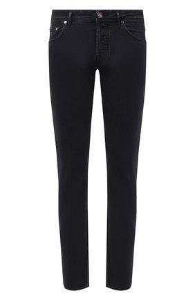 Мужские джинсы JACOB COHEN черного цвета, арт. J688 ECCELLENZA C0MF 02044-W1/54 | Фото 1