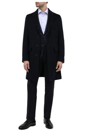 Мужской кожаные дерби wedmer BALLY черного цвета, арт. WEDMER/540 | Фото 2