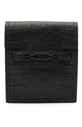 Мужская кожаная сумка vannie BALLY черного цвета, арт. VANNIE.C/20 | Фото 1