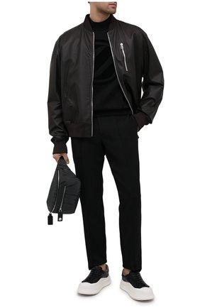 Мужская поясная сумка valentino garavani VALENTINO черного цвета, арт. UY0B0982/BUK | Фото 2