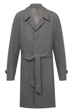 Мужской кашемировое пальто CORNELIANI серого цвета, арт. 861407-0812600/00 | Фото 1