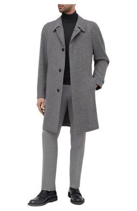 Мужской кашемировое пальто CORNELIANI серого цвета, арт. 861407-0812600/00 | Фото 2