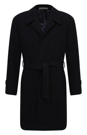 Мужской пальто из шерсти и кашемира CORNELIANI темно-синего цвета, арт. 861407-0812170/00 | Фото 1