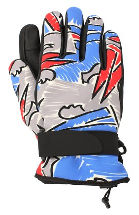Мужские утепленные перчатки MONCLER разноцветного цвета, арт. F2-09I-3A603-00-53A3F | Фото 1