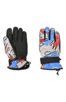 Мужские утепленные перчатки MONCLER разноцветного цвета, арт. F2-09I-3A603-00-53A3F | Фото 2