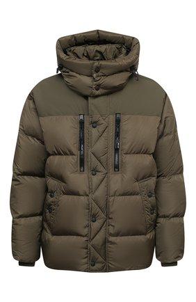 Мужская пуховая куртка rlx RALPH LAUREN темно-зеленого цвета, арт. 784825216 | Фото 1