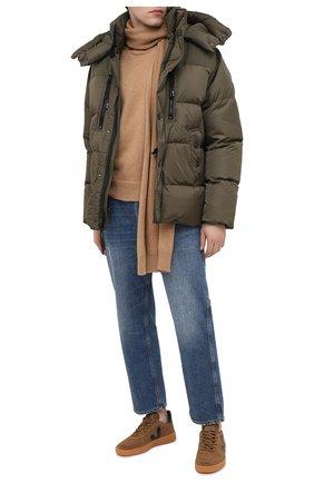 Мужская пуховая куртка rlx RALPH LAUREN темно-зеленого цвета, арт. 784825216 | Фото 2