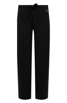 Мужские домашние брюки RALPH LAUREN черного цвета, арт. 714804799 | Фото 1