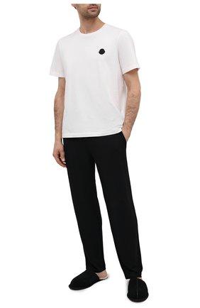 Мужские домашние брюки RALPH LAUREN черного цвета, арт. 714804799 | Фото 2
