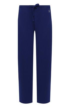 Мужские домашние брюки RALPH LAUREN синего цвета, арт. 714804799 | Фото 1