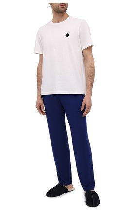 Мужские домашние брюки RALPH LAUREN синего цвета, арт. 714804799 | Фото 2