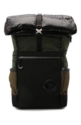 Мужской текстильный рюкзак extreme MONCLER хаки цвета, арт. F2-09A-5A501-10-02SL5 | Фото 1