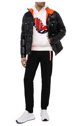 Мужская пуховая куртка montmirail MONCLER темно-синего цвета, арт. F2-091-1A567-00-C0613 | Фото 2