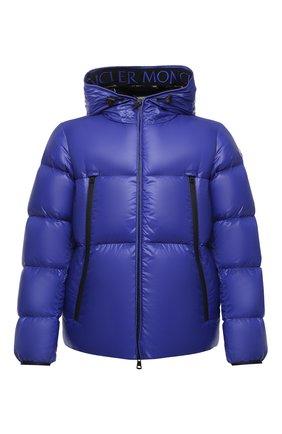 Мужская пуховая куртка MONCLER синего цвета, арт. F2-091-1A51B-00-68950 | Фото 1