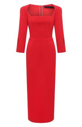 Женское платье ULYANA SERGEENKO красного цвета, арт. ABM007FW20P 1456т20 | Фото 1