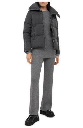 Женская куртка BOSS темно-серого цвета, арт. 50437959 | Фото 2
