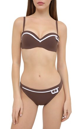 Женский плавки-бикини LISE CHARMEL коричневого цвета, арт. ABA0334 | Фото 2