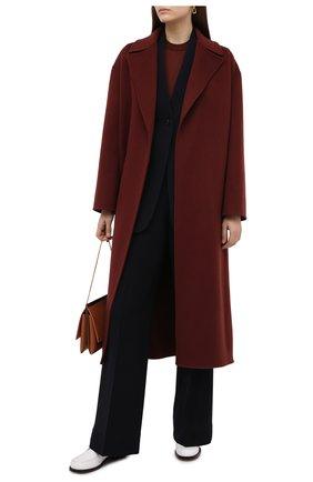 Женский кашемировый пуловер LORO PIANA коричневого цвета, арт. FAI4920   Фото 2