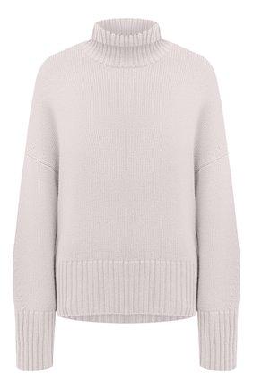 Женский кашемировый пуловер LORO PIANA светло-серого цвета, арт. FAI7129 | Фото 1