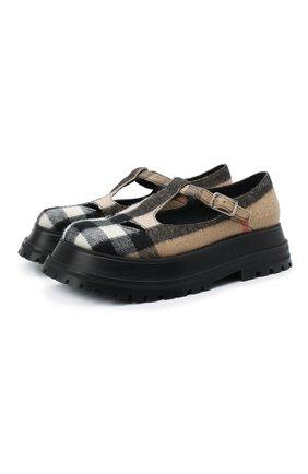Текстильные туфли | Фото №1