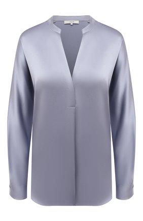 Женская шелковая блузка VINCE голубого цвета, арт. V692411926 | Фото 1