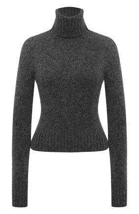 Женский шерстяной свитер AMI серого цвета, арт. H20FK206.003 | Фото 1