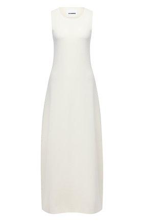 Женское платье JIL SANDER белого цвета, арт. JSWR754336-WRY29028 | Фото 1