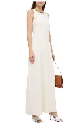 Женское платье JIL SANDER белого цвета, арт. JSWR754336-WRY29028 | Фото 2
