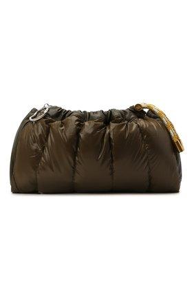 Женская сумка seashell MONCLER хаки цвета, арт. F2-09B-5L506-10-02SK9 | Фото 1