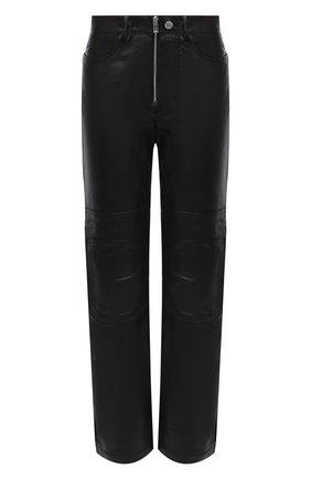 Женские кожаные брюки ZADIG&VOLTAIRE черного цвета, арт. WJCC1403F | Фото 1