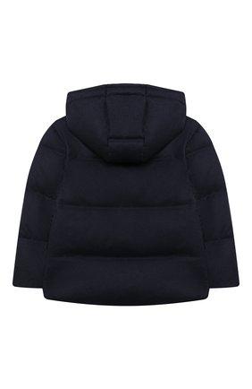 Детский пуховая куртка BRUNELLO CUCINELLI синего цвета, арт. BM428J303A | Фото 2