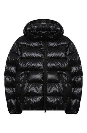 Детский пуховая куртка HERNO черного цвета, арт. PI0078B/12398/4A-8A | Фото 1