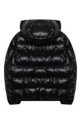 Детский пуховая куртка HERNO черного цвета, арт. PI0078B/12398/4A-8A | Фото 2